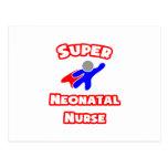Super Neonatal Nurse Postcard