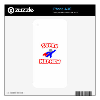 Super Nephew Decal For iPhone 4