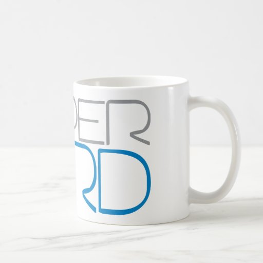 Super Nerd Classic White Coffee Mug