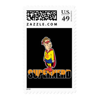 Super-Nerd Stamps