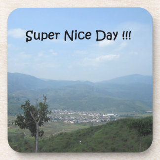 Super Nice Day!!! Drink Coaster