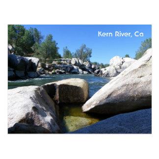 Super Nice Kern River Postcard! Postcard