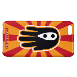 Hand shaped Super Ninja Hand Case For iPhone 5C