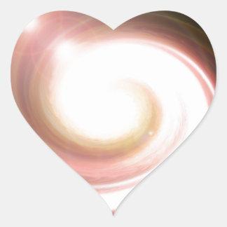 super Nova Black hole Heart Stickers