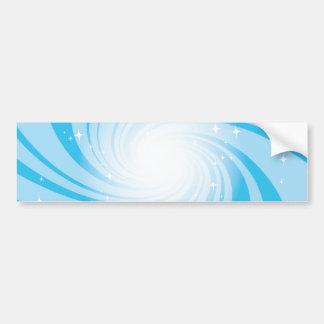 Super Nova Blue Bumper Sticker