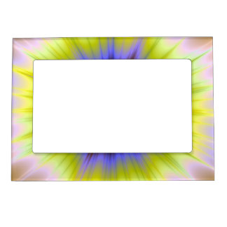 Super Nova in Blue and Yellow Frame