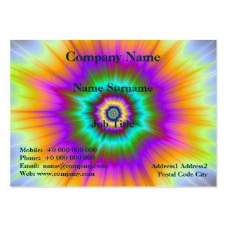 Super Nova In Color Card Large Business Card