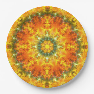 Super Nova Mandala Paper Plate