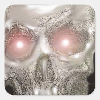 super nova skull stickers