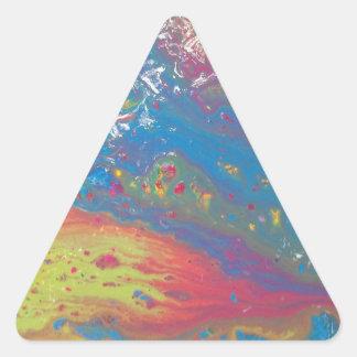 Super Nova Triangle Sticker