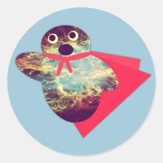 Super Nova Round Sticker