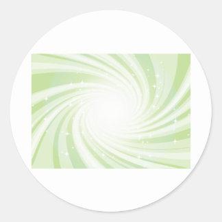 Super Nova Round Stickers