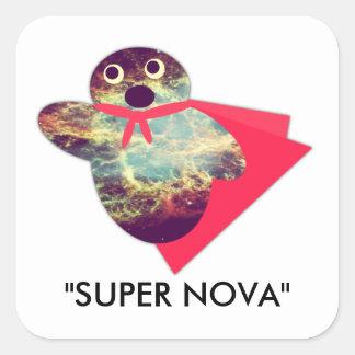 Super Nova Square Sticker