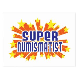 Super Numismatist Postcard