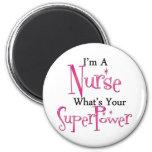 Super Nurse 2 Inch Round Magnet