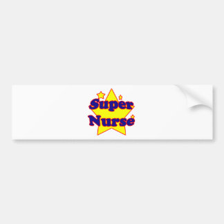 Super Nurse Bumper Sticker