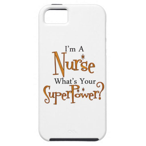 Super Nurse iPhone 5 Cases