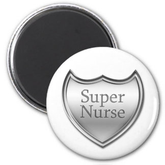 Super Nurse Emblem Magnet