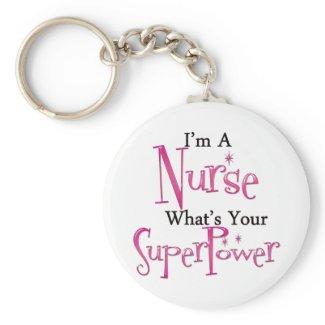 Super Nurse Key Chain