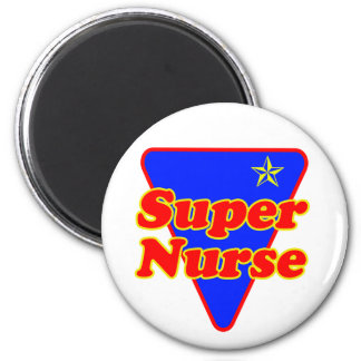 Super Nurse Fridge Magnets
