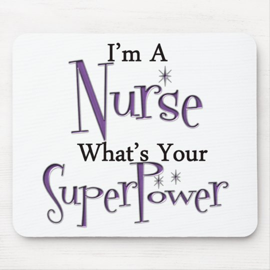 Super Nurse Mouse Pad