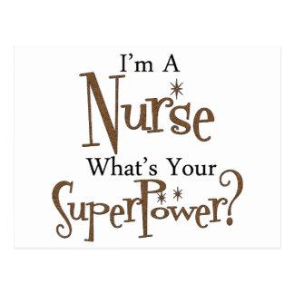 Super Nurse Postcard