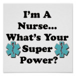 Super Nurse Posters