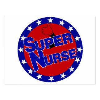 SUPER NURSE THUMBS UP - ENCOURAGEMENT POSTCARD