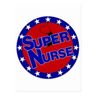 SUPER NURSE THUMBS UP - ENCOURAGEMENT POST CARDS