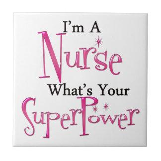 Super Nurse Tile