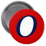 Super O Pinback Button