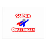 Super Obstetrician Postcard