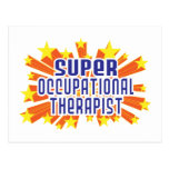 Super Occupational Therapist Postcard