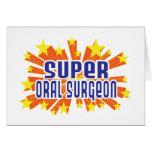 Super Oral Surgeon Greeting Card