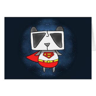 Super Panda Greeting Card