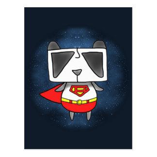 Super Panda Postcard