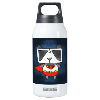 Super Panda Thermos Water Bottle