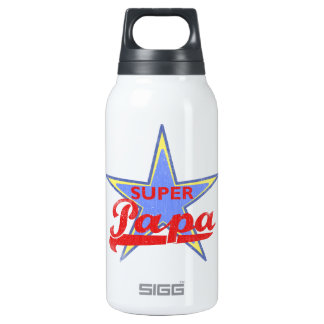 Super Papa Insulated Water Bottle