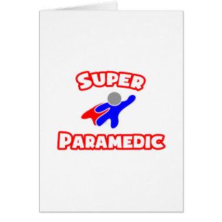 Super Paramedic Greeting Card