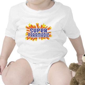Super Paramedic Baby Bodysuits