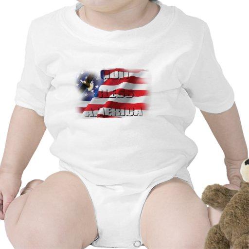 Super Patriotic Shirt God Bless America