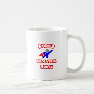 Super Pediatric Nurse Classic White Coffee Mug