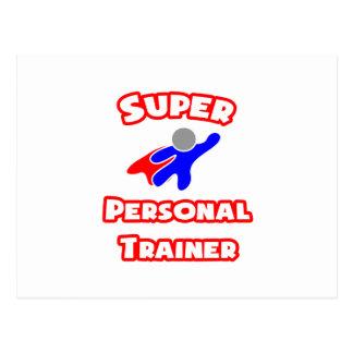 Super Personal Trainer Postcard