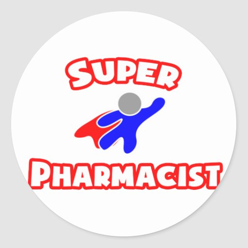 Super Pharmacist Classic Round Sticker