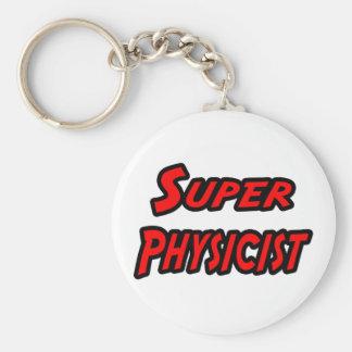 Super Physicist Basic Round Button Keychain
