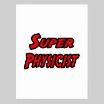 Super Physicist Postcard