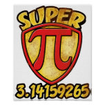 Super Pi Poster
