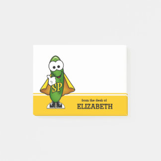 Super Pickle Personalized Post-it Notes