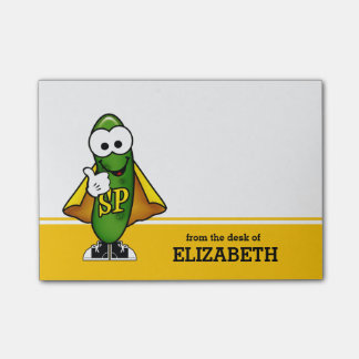 Super Pickle Personalized Post-it® Notes