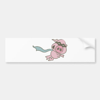 Super PIG Bumper Sticker